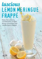 Confectionary Frappe - Lemon Meringue A4 poster - Download Only