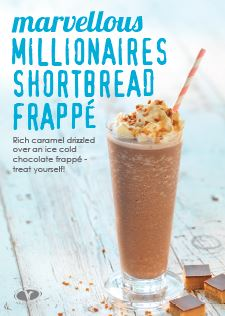 Confectionary Frappe - Millionaire Shortbread A4 poster - Download Only